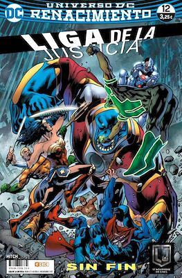 Liga de la Justicia. Nuevo Universo DC / Renacimiento (Grapa) #67/12