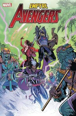 Empyre - The Avengers (Variant Cover) (Comic Book) #3