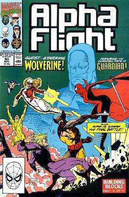 Alpha Flight Vol. 1 (1983-1994) (Comic Book) #90