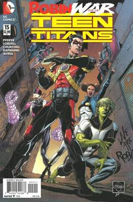 Teen Titans Vol. 5 (2014-2016) (Comic Book) #15