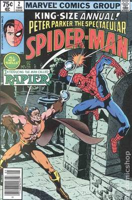 The Spectacular Spider-Man Vol 1 Annuals (Comic Book) #2