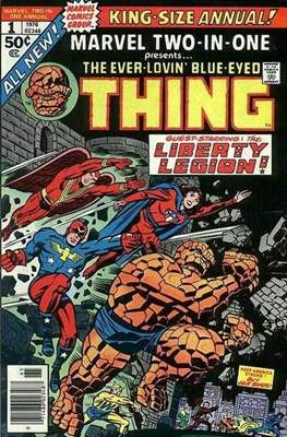Marvel Two-in-One Annual (Comic Book. 1976 - 1982) #1