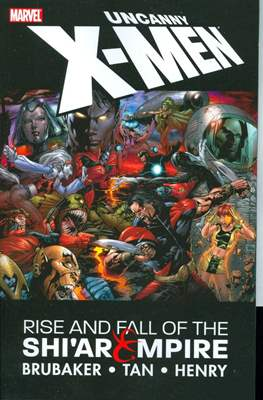 Uncanny X-Men Rise and Fall of the Shi'ar Empire