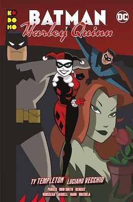Batman y Harley Quinn. Linea Kodomo