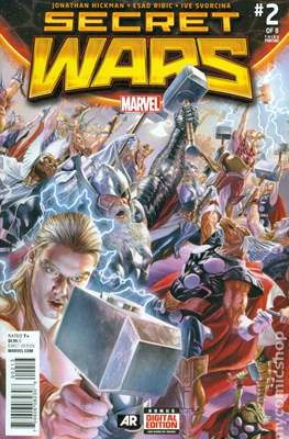 Secret Wars (2015) Variant Covers (Comic Book) #2.5