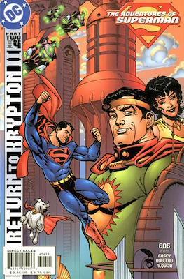 Superman Vol. 1 / Adventures of Superman Vol. 1 (1939-2011) (Comic Book) #606