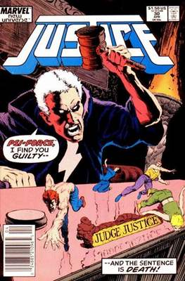 Justice. New Universe (1986) (Grapa.) #30