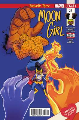 Moon Girl and Devil Dinosaur (Comic-book) #27