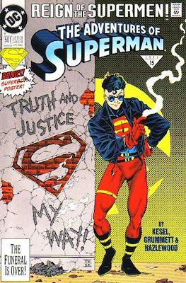 Superman Vol. 1 / Adventures of Superman Vol. 1 (1939-2011) (Comic Book) #501