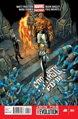 Fantastic Four Vol. 4 (Comic Book) #4
