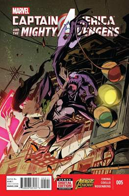 Captain America and the Mighty Avengers (Comic-Book) #5