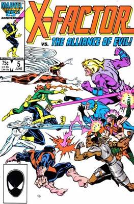 X-Factor Vol. 1 (1986-1998) (Comic Book) #5