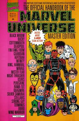 The Official Handbook of the Marvel Universe Master Edition (Softcover 48 pp) #25