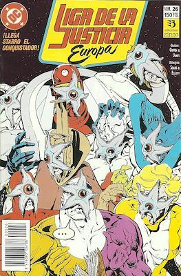 Liga de la Justicia Europa (1989-1992) (Grapa) #26