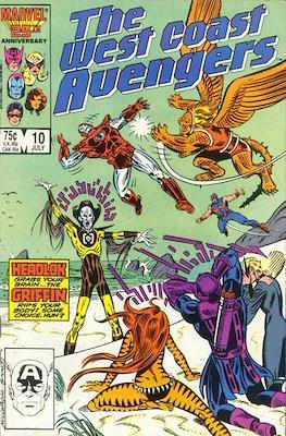 The West Coast Avengers Vol. 2 (1985 -1989) #10