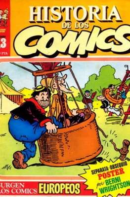 Historia de los Cómics (Grapa 32 pp) #13