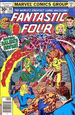 Fantastic Four Vol. 1 (1961-1996) (saddle-stitched) #186