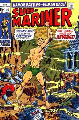 Sub-Mariner Vol. 1 (Grapa) #25