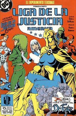 Liga de la Justicia / Liga de la Justicia internacional / Liga de la Justicia de America (1988-1992) (Grapa) #25