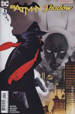 Batman / The Shadow (2017-) Variant Covers