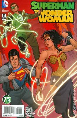 Superman / Wonder Woman (2013-2016 Variant Covers) (Comic Book) #21