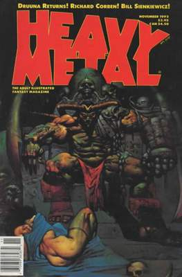 Heavy Metal Magazine (Magazine) #141