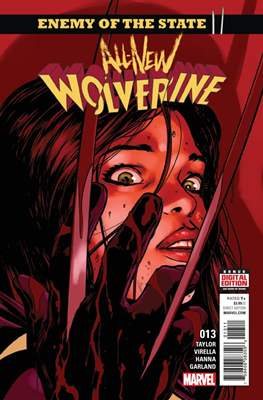 All-New Wolverine (2016-) (Comic book) #13