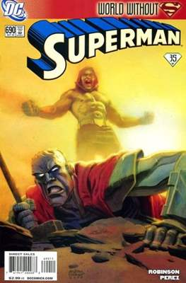 Superman Vol. 1 / Adventures of Superman Vol. 1 (1939-2011) (Comic Book) #690