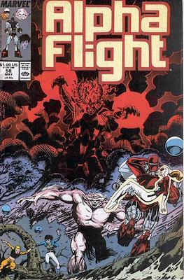 Alpha Flight Vol. 1 (1983-1994) (Comic Book) #58
