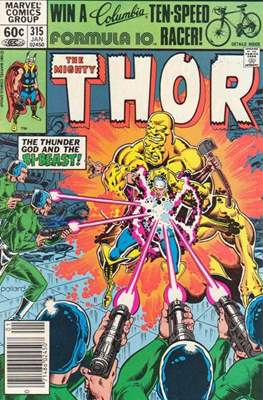 Journey into Mystery / Thor Vol 1 (Comic Book) #315
