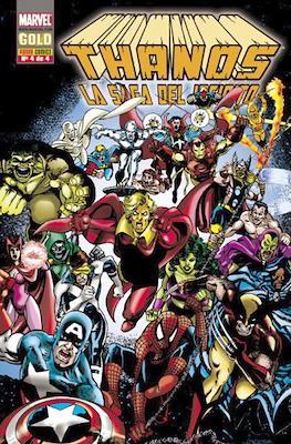 Thanos: La saga del infinito. Marvel Gold (Rústica 96-128 pp) #4