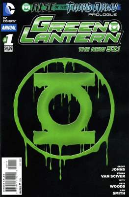 Green Lantern Vol. 5 Annual (2012-2015) #1