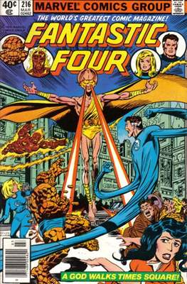 Fantastic Four Vol. 1 (1961-1996) (saddle-stitched) #216