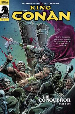 King Conan: The Conqueror (32 páginas) #1