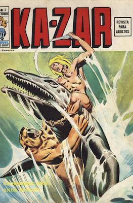 Ka-Zar (1974-1977) (Rústica 40 pp) #2