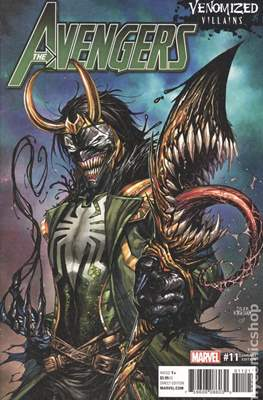 The Avengers Vol. 7 (2016-...Variant Covers ) (Grapa) #11.1