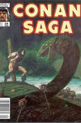 Conan Saga (Comic-book) #34