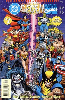 DC gegen Marvel / DC/Marvel präsentiert / DC Crossover präsentiert
