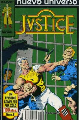 Justice (1988-1989) (Grapa. 17x26. 24 páginas. Color.) #8