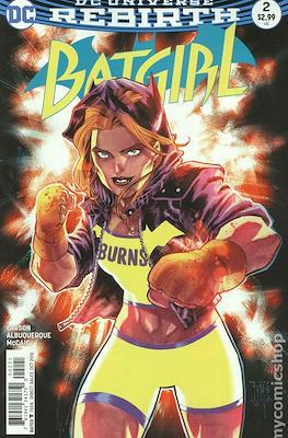 Batgirl Vol. 5 (2016- Variant Cover) #2