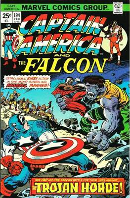 Captain America Vol. 1 (1968-1996) (Comic Book) #194