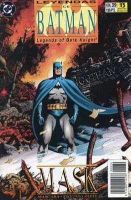 Leyendas de Batman. Legends of the Dark Knight (Grapa (1990)) #39
