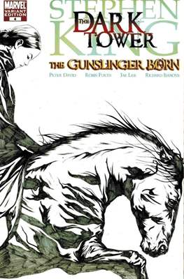 Dark Tower: The Gunslinger Born (Variant Sketch Cover) (Comic Book 40 pp) #4
