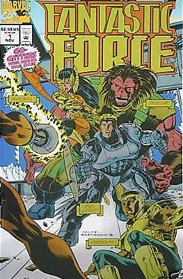 Fantastic Force Vol. 1 (1994-1996) (Saddle-stitched) #1