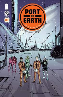 Port of Earth (Comic-book) #8