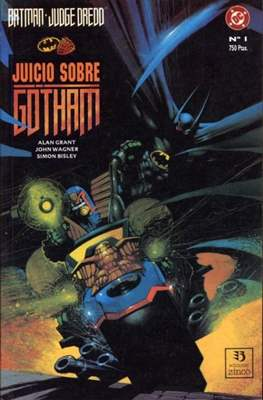 Batman / Judge Dredd: Juicio sobre Gotham