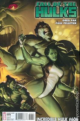 The Incredible Hulk / The Incredible Hulks (2009-2011 Variant Cover) #606