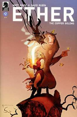 Ether: The Copper Golems (Variant Covers) (Comic Book) #2.1