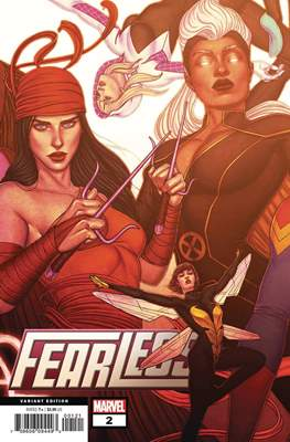 Fearless (2019- Variant Cover) (Comic Book) #2