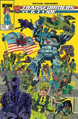 Transformers vs. G.I.Joe #1